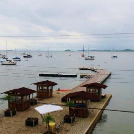Pier e flotilha CCS em SFS-SC