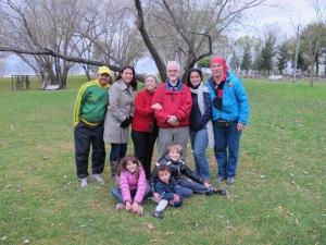 Visita do Papis e da Mamis (e da irmã e família)