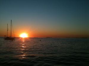 Pôr do Sol em Colonia del Sacramento - Uruguay