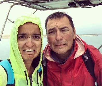 Lots and lots of rain Muita, muita chuva