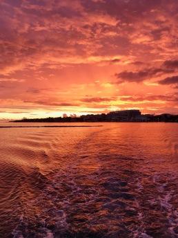 Sunset in Bimini Por do sol em Bimini